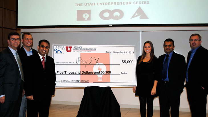 iPay2x wins $5,000 from a Lassonde-sponsored entrepreneur competition.