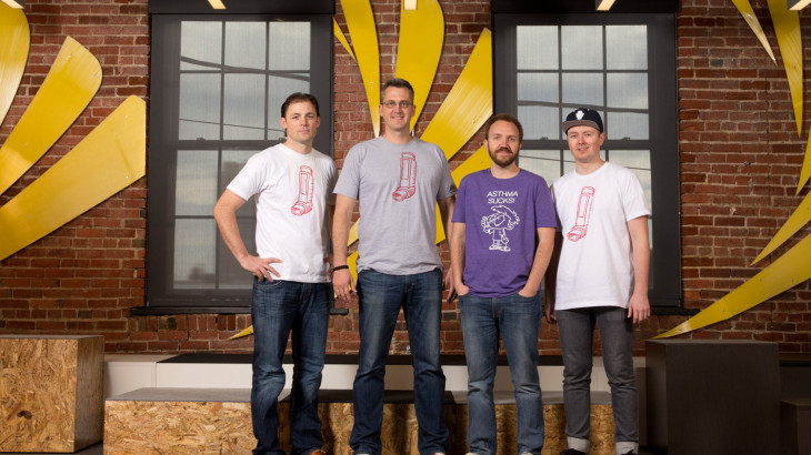 U student startup, Symptomly, founders and leadership.