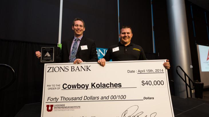 Utah Entrepreneur Challenge winners Cowboy Kolaches