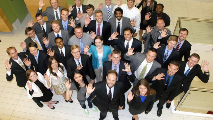 Lassonde New Venture Development Center graduate program associates.