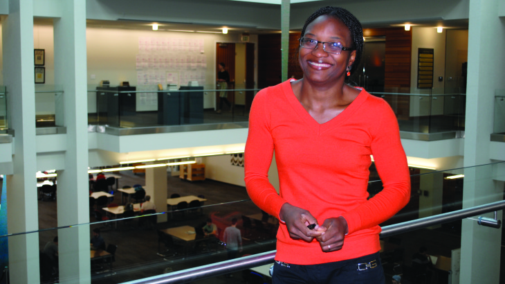 U student develops byproduct that kills parasites in sheep.
