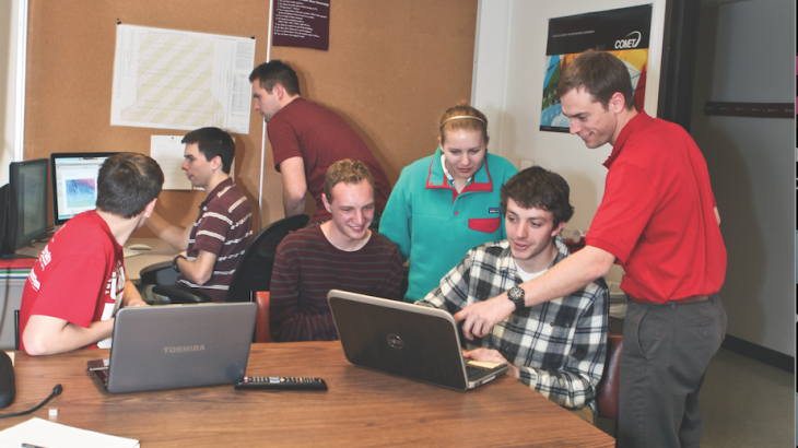 Students participate in Ute Weather program to contribute to community.
