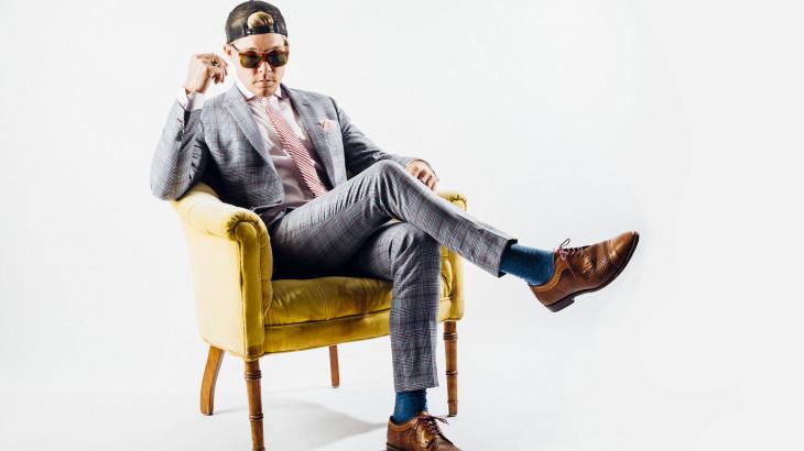 U student Trapper Roderick creates custom tailor suit company.