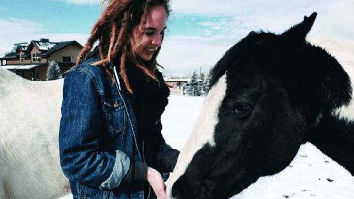 U student Natalie Blanton is an advocate for animal and human rights, and works to spread awareness on campus.