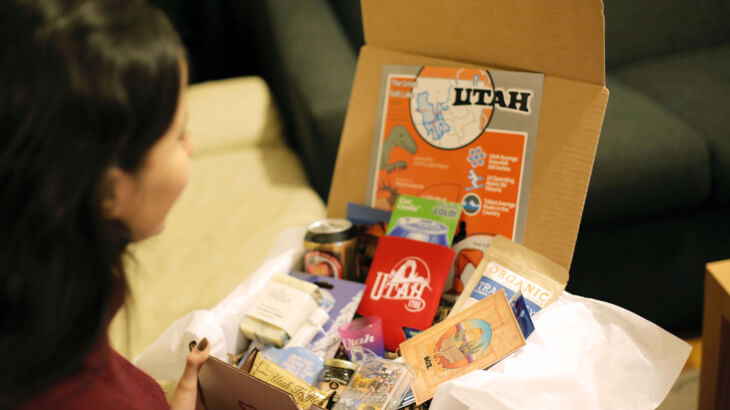 The Utah Box- a creative startup formed by local college students who met at a Lassonde workshop.