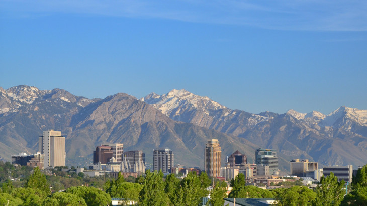Downtown Salt Lake City photo by Garrett via Flickr