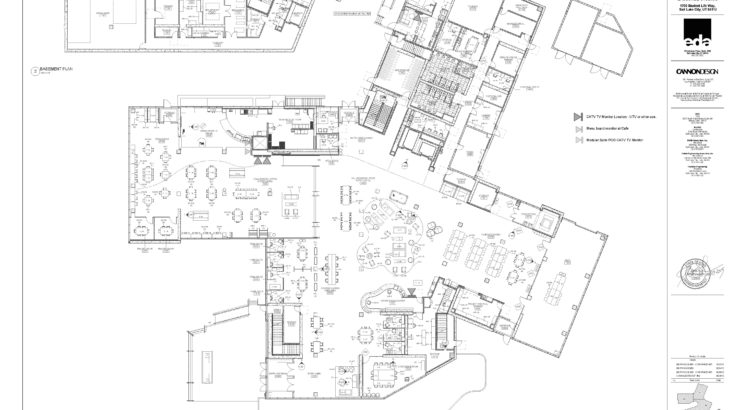 Lassonde Studios floor plans, University of Utah