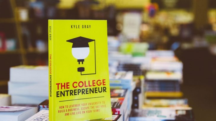 The College Entrepreneur - New book by U alum Kyle Gray
