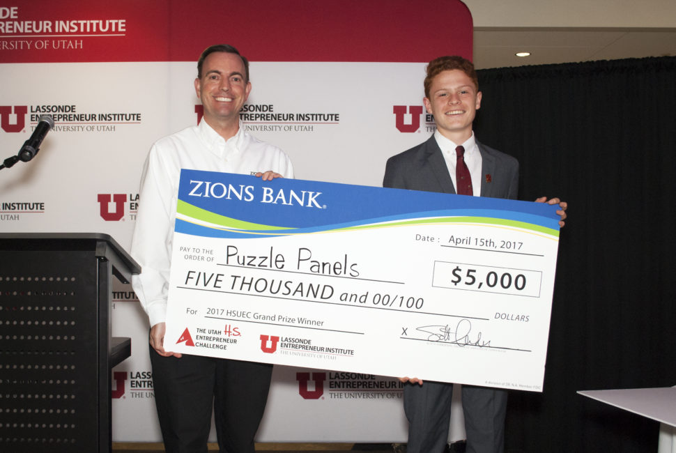 Puzzle Panel, High School Utah Entrepreneur Challenge