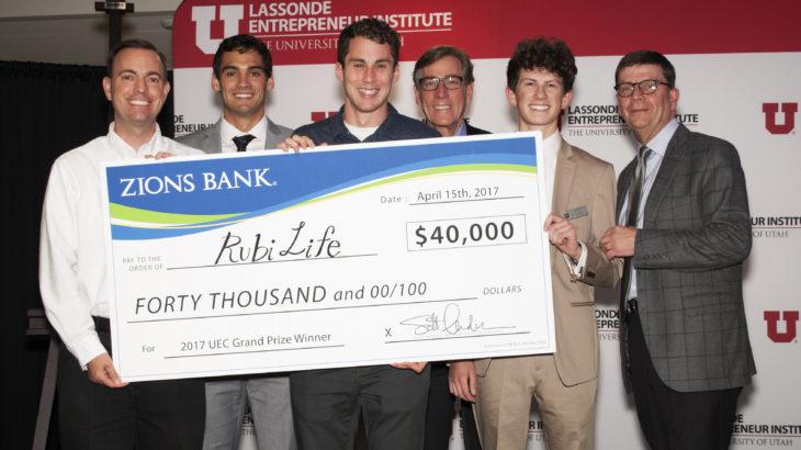 Rubi Life, University of Utah, Utah Entrepreneur Challenge