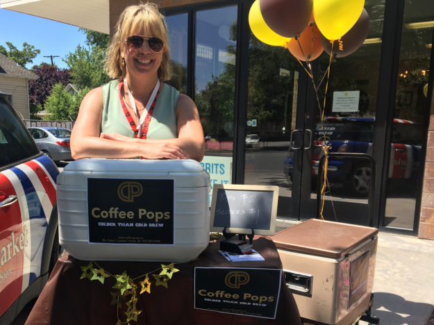 Darby Bailey McDonough, founder of Coffee Pops.