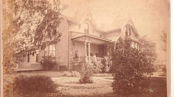Lassonde House, University of Utah, historical image