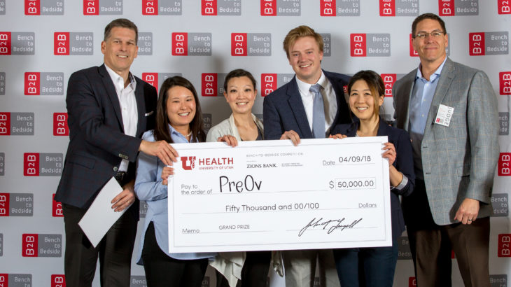 Bench-to-Bedside at the University of Utah, 2018 winners
