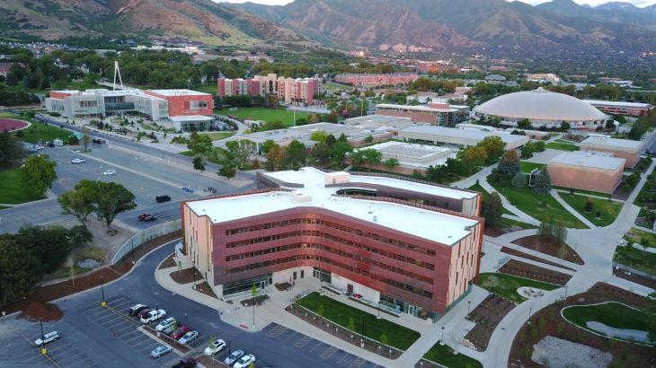 Lassonde Studios aerial photo