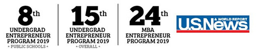 Top-Ranked University Entrepreneur Academic Degree Program