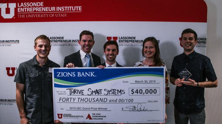 Utah Entrepreneur Challenge, Thrive Smart Systems