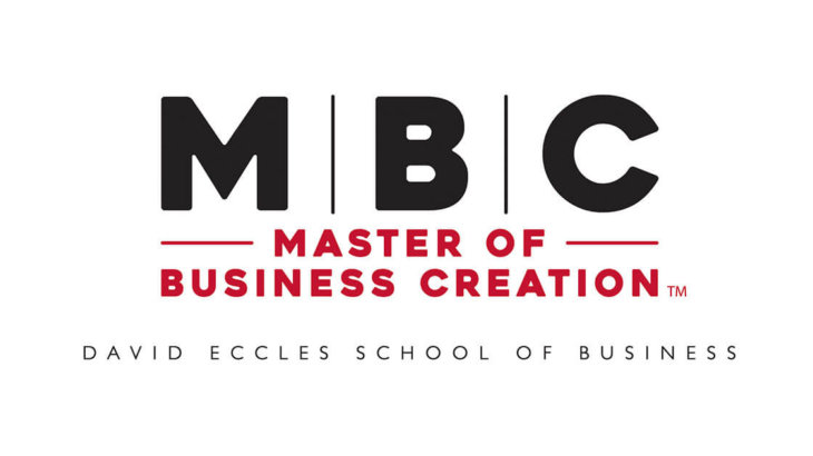 Master of Business Creation at the David Eccles School of Business