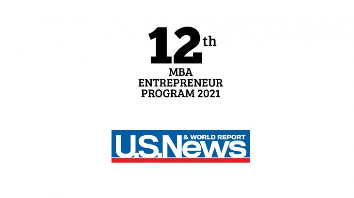 US News MBA entrepreneurship ranking