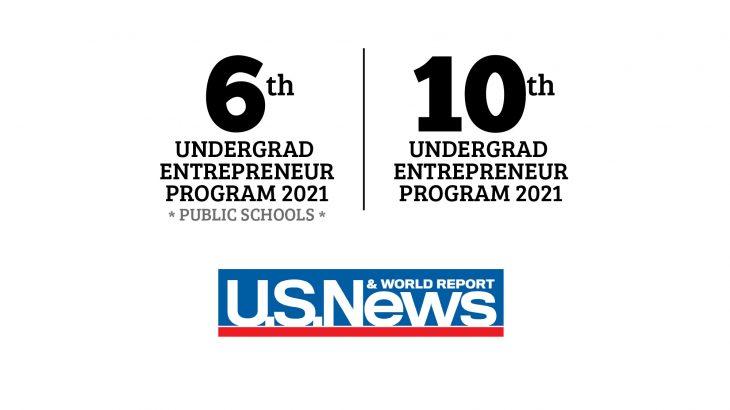 Entrepreneurship Ranking, Undergraduate