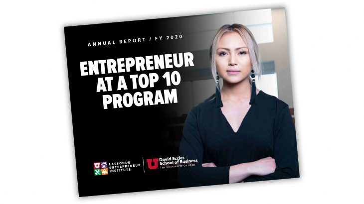 Lassonde Entrepreneur Institute Annual Report FY 2020