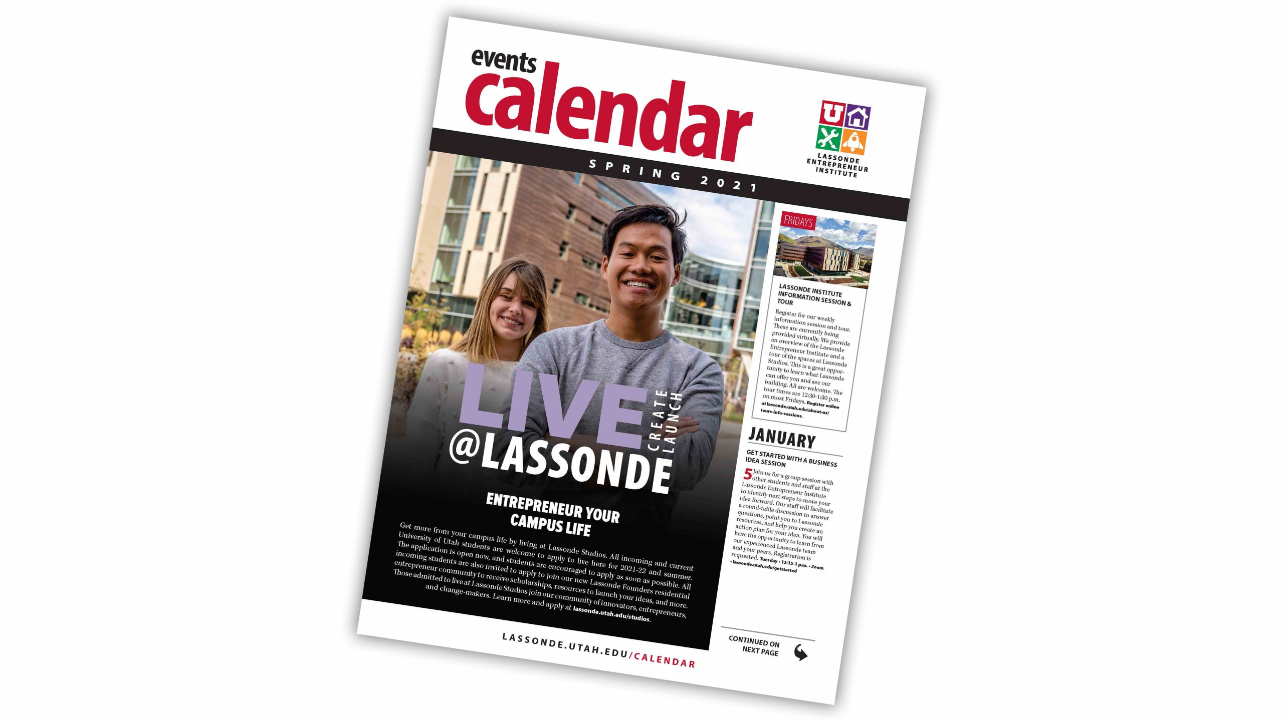 Lassonde Events Calendar: Spring 2021 | Lassonde Entrepreneur